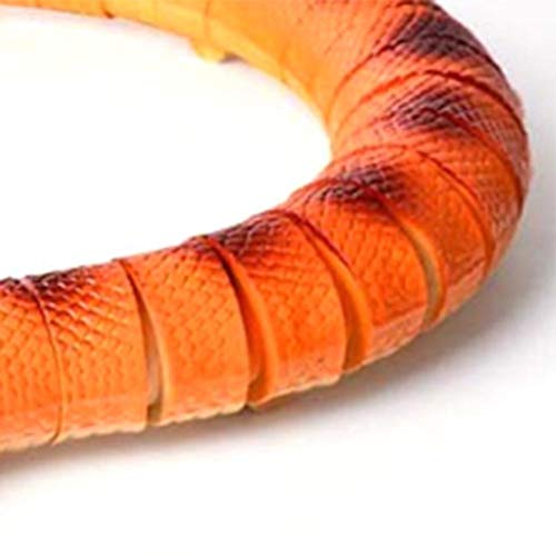 heling896 Serpiente De Cascabel De Serpiente De Control Remoto Serpiente Eléctrica Realista Juguete Animal Truco De Juguete Aterrador para Niños Niños