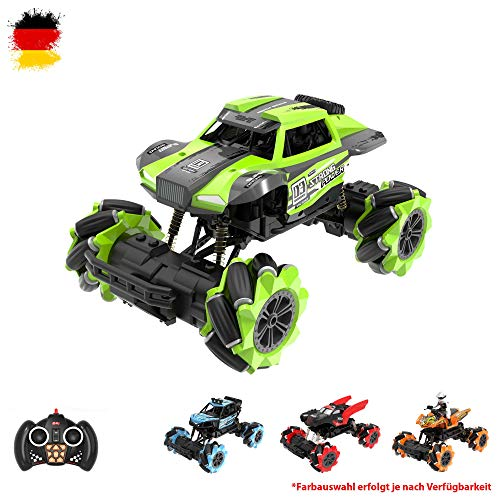 Himoto HSP RC Off-Road Monster Truck Buggy, 2.4 GHz Dancing Drift Stunt Car Modell, vehículo, Crawler en Komplettset Auto con batería integrada y control remoto