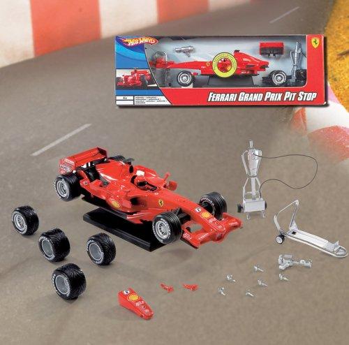 Hot Wheels Mattel M2742 Ferrari - Parada en Boxes
