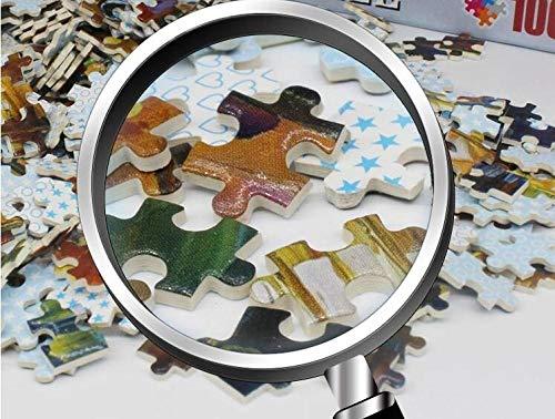 HZDXT Rompecabezas de 1000 Piezas, Rompecabezas de Pintura al óleo del Arte, Juguetes educativos para niños descomprimidos para Adultos Regalos Dibujos Animados de Anime- Bola enmascarada Edouard