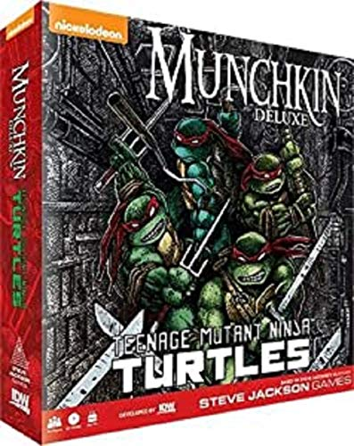 IDW Games idw01527Munchkin: Teenage Mutant Ninja Turtles, Multicolor