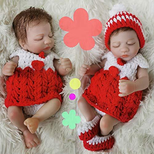 IOPJKL Muñecas, muñecas de simulación, muñecas para Dormir, muñecas de Renacimiento, Personas de simulación, Vinilo para bebés, Todos los Juguetes Suaves para niños