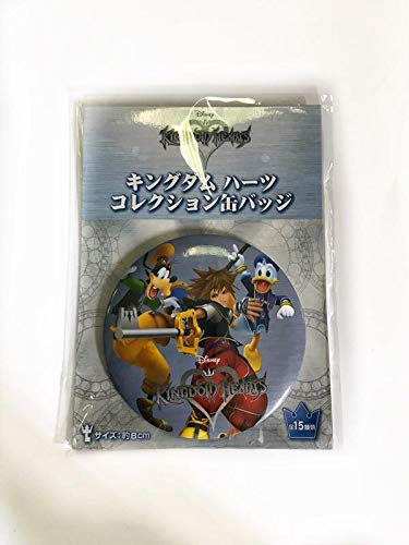 Japan oficial Kingdom Hearts Pin 8 cm Sega Disney Videojuego Sora Pippo Paper Kairi #1
