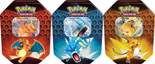 Juego de cartas coleccionables de Pokémon (TCG): lata de Hidden Fates (al azar) , color/modelo surtido