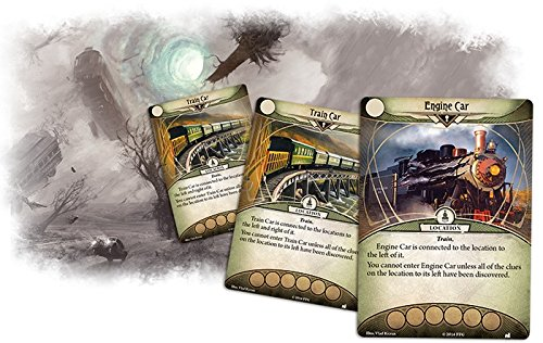 Juego de cartas Fantasy Flight Games AHC04 Arkham Horror The Essex County Express Mythos Pack , color/modelo surtido