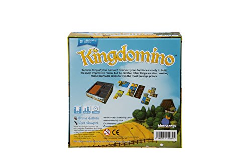 Juego de mesa Kingdomino de Coiledspring Games. , color/modelo surtido