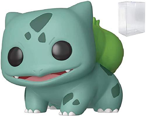 Juegos Funko: Pokemon - Bulbasaur Pop! Figura de Vinilo (Incluye Estuche Protector Pop Box Compatible)