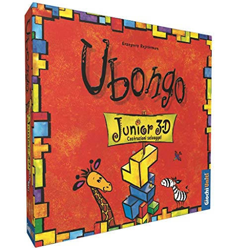 Juegos Unidos–ubongo: 3D Junior Un Grade Clásico del Juego German, Ahora para los más pequeños, Multicolor, 1