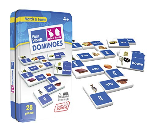 Junior Learning JL491 Dominoes Educativos , color/modelo surtido