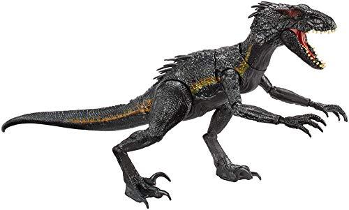 Jurassic World Dinosaurio de juguete Indoraptor luces y sonidos (Mattel FLY53)
