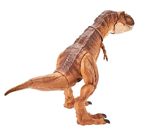 Jurassic World - Legacy Tiranosaurio Rex, Dinosaurio de Juguete (Mattel FLN76)