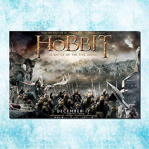 KELDOG® Madera Rompecabezas Arte película Rompecabezas clásico Rompecabezas 1000 Piezas El Hobbit 3 La Batalla los Cinco ejércitos, Divertido Juego Juguetes Rompecabezas Casuales Gran tamaño