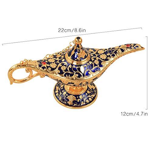 Kilofly Aladdin - Lámpara de mesa, diseño vintage