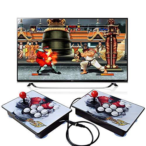 King Bomb Tipo de separacion Pandora's Box 6S, 2200 en 1 Consola de Juegos, 1280 * 720 Doble Consola HD Arcade de Madera, personalización de Botones de Soporte y Juegos multijugador