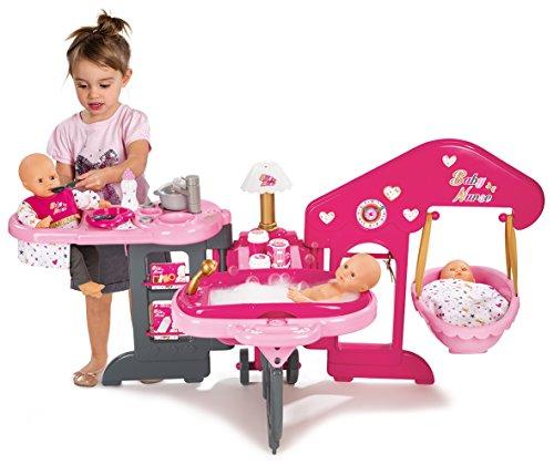 La casa de los bebés de Baby Nurse con 13 accesorios (Smoby 220318)