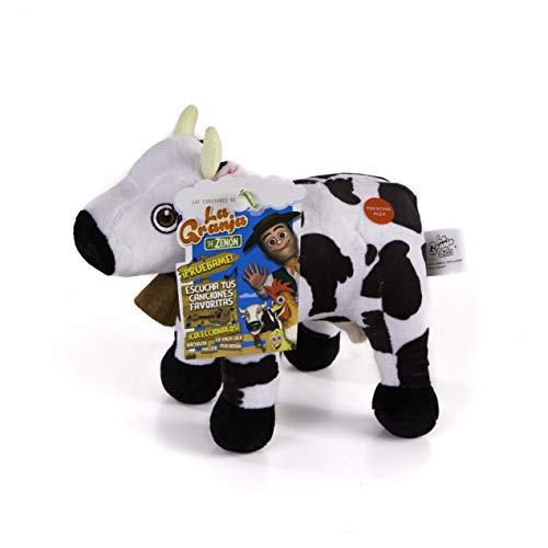 La Granja de Zenón - Peluche Musical  Vaca Lola (Bandai, 80014)