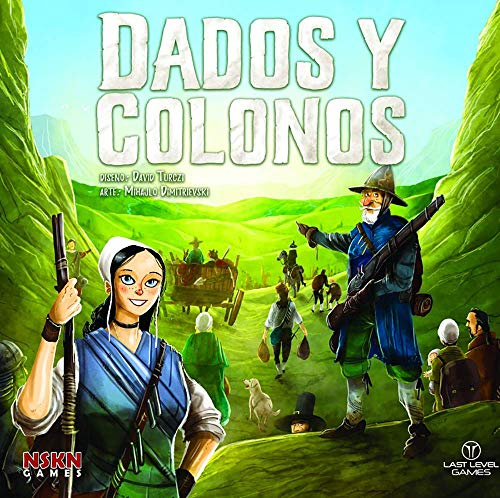 LAST LEVEL- Dados y colonos, Multicolor (BGDADOSCOLO)