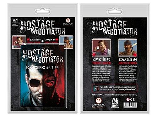 Last level- Hostage el negociador expansiones 3 y 4 Castellano (BGLLHOSTEXP34)