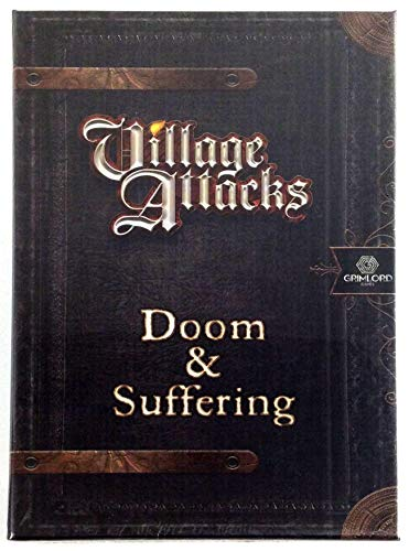 LAST LEVEL- Village Attackcs Maldicion y Sufrimiento Castellano, Multicolor (BGVA-Das)