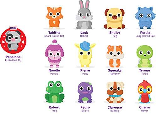 Learning Resources 2 Pack Espuma de Juegos con figuritas de los Amigos Playfoam Pals Pet Party (Serie 2-Expositor para mostrador con 12 Unidades), Color (EI-1966)