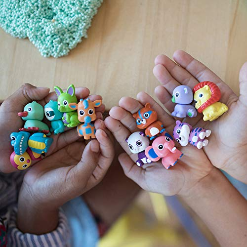 Learning Resources- Espuma de Juegos con figuritas Playfoam Pals Wild Friends, Pack de 12, Color, 12-Pack (EI-1970)