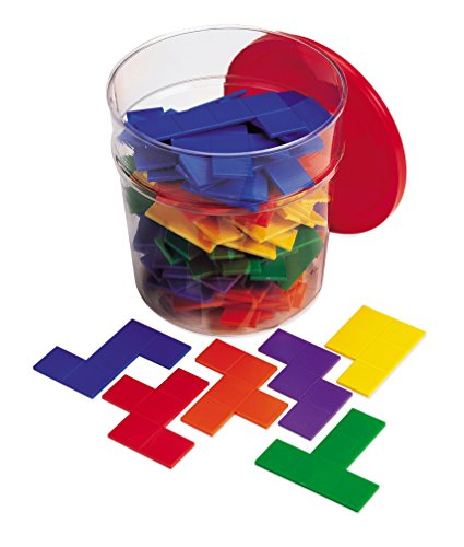 Learning Resources- Pentominós de Colores Rainbow Pentominoes (LER0286-6)