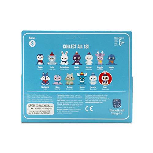 Learning Resources Playfoam Pals Snowy Friends (Series 3-2 Pack) Espuma de Juegos con figuritas de lso Amigos 3-Pack de 2, Color (EI-1968)