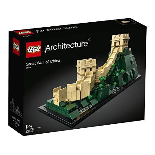 LEGO Architecture - Gran Muralla China, Maqueta Decorativa de Juguete del Monumento Asiático para Construir (21041)