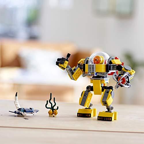 LEGO Creator - Robot Submarino, juguete de aventuras en el mar para construir (31090) , color/modelo surtido