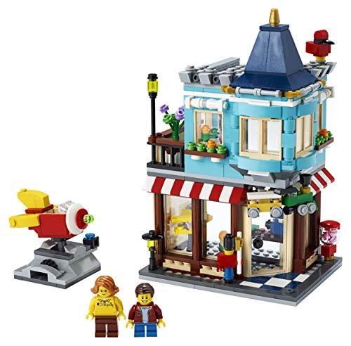 LEGO Creator - Tienda de Juguetes Clásica, Set de Construcción con Edificios de Juguete 3 en 1, Incluye Varias Minifiguras para Recrear Escenas Cotidianas (31105) , color/modelo surtido