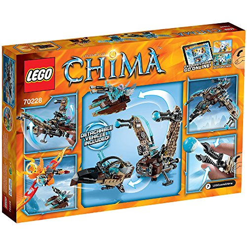 LEGO Legends of Chima - Juguete El carroñero Volador de Vultrix (70228)