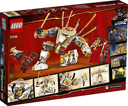 LEGO Ninjago - Robot Dorado, Juguete de Construcción con Figura de Acción, Incluye a Lloyd, Wu y el general Kozu, a Partir de 8 Años (71702) , color/modelo surtido