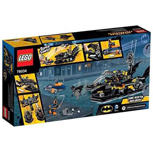 LEGO - Persecución por el Puerto en el Batbarco, Multicolor (76034)