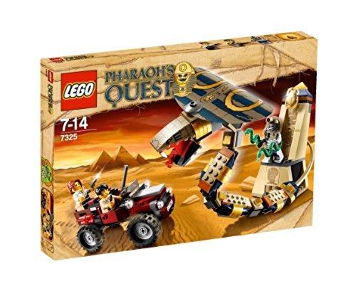 LEGO Pharaoh's Quest 7325 Cursed Cobra Statue - Estatua de la cobra maldita  [versión en inglés]