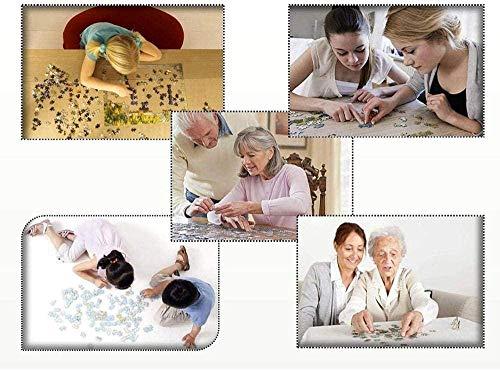 LGCCC Wooden Jigsaw Puzzles Classic Rompecabezas de Juguete, Jigsaw Puzzle Piezas en adultos y niños,Animales a bordo-1000 Piece Home Game decoración del hogar Juguetes educativos