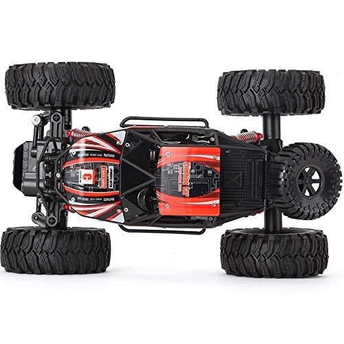 LIANYANG Coche RC Camiones Carreras de alta velocidad 1:14 Escala 4WD Off Road s Con batería recargable RTR Cepillado Monster Car Big Foot Electric Power Buggy Crawler Rotación Stunt Drifting Vehículo