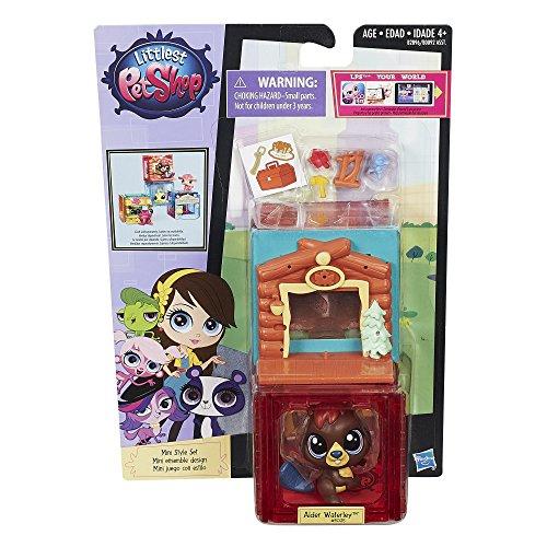 Littlest Pet Shop Mini Style Set with Beaver Figure by Littlest Pet Shop