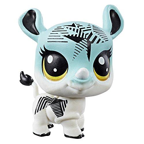Littlest Pet Shop único Mascota (Rhino)