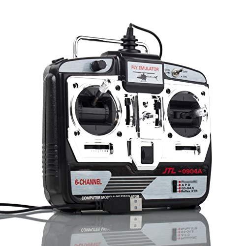 LLAni 6CH RC simulador de Vuelo JTL-0904A Apoyo Real RF7 G7 Phoenix 5.0 Modo de Aviones no tripulados XTR burlan con Amigos en el hogar