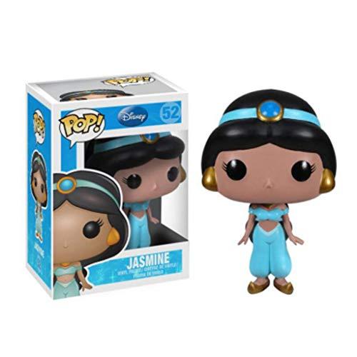 LLFX Pop Figuras Aladino y la lámpara mágica - Jasmine Princesa Figura muñecas de Moda Exclusiva colección de 10 cm de PVC for Boys
