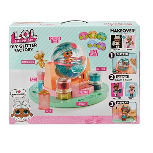 L.O.L. Surprise! 556299E7C DIY Estacion de Purpurina, Multi
