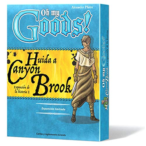 Lookout Games-Oh My Goods Huida a Canyon Brook, Color (LKGOMG03ES)