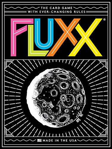 Looney Labs Juego de Cartas Fluxx 5.0 (versión en inglés)