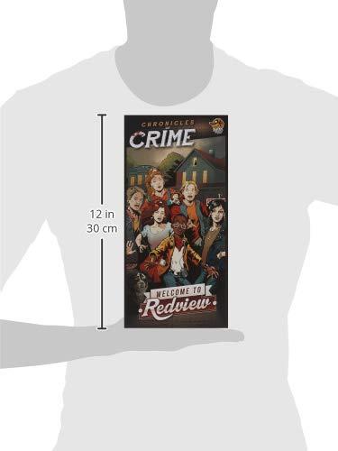 Lucky Duck Games LKY038 Crónicas de Crime: Bienvenido a Redview