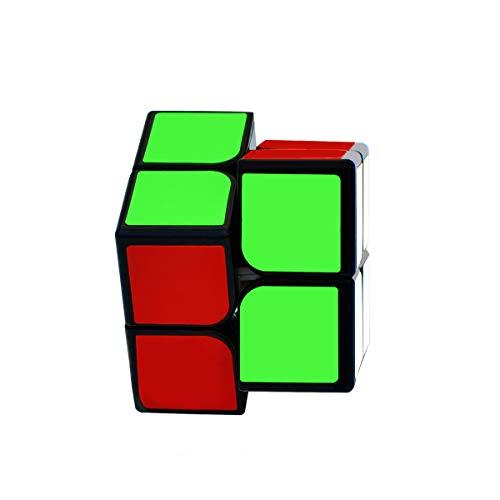 lunaoo Magic Cube 2x2 Speed Cube, Cubo Magico Puzzle 3D Rompecabezas Regalos de Juguetes para Niños y Adultos