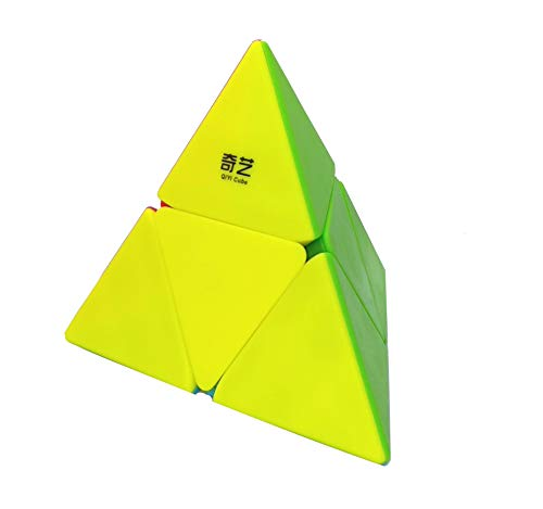 lvl25 Cubo Pyraminx 2x2 stickerless, piraminx Velocidad y Gran Giro. LEVEL25