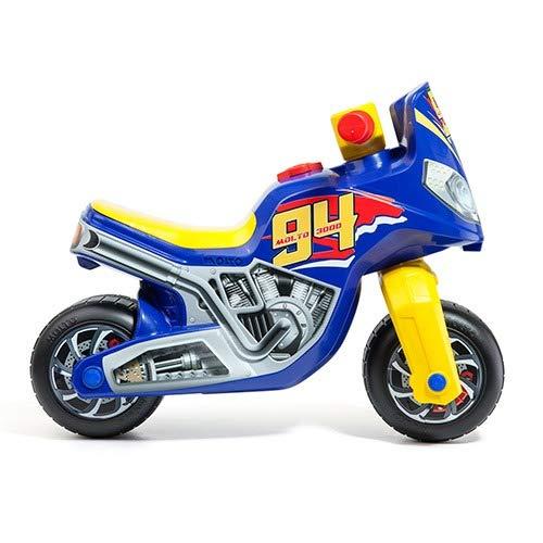 M MOLTO- Correpasillos Moto Cross Race Chico, Multicolor (18223)