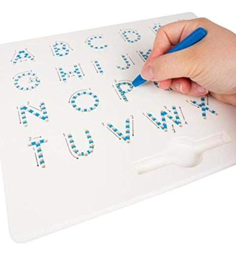 Ma Plastic Balls Large Trade Letters ABC Dry Erase Board with Magnetic Pen