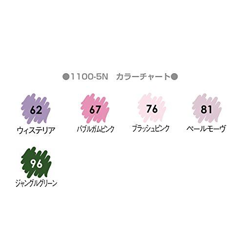 Mabi acuosa de colorante marcador en maceta pepino artista cepillo 5 PC Botaenico establece 1100-5N
