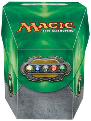 MAGIC EE: COMMANDER DECK BOX - COLOR VERDE
